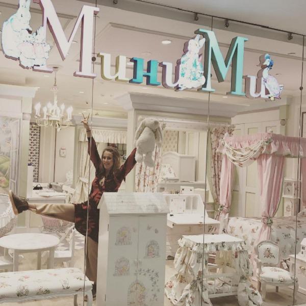 Ксения купила мебель в детскую, под которую оставила комнату в новой квартире в центре Москвы