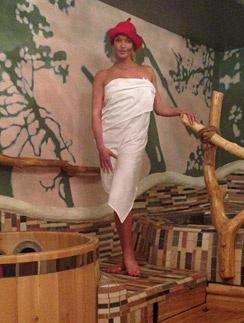 Анастасия отправила всех в баню