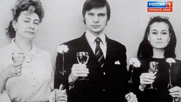 Галина Брежнева, Олег Видов и Наталья Федотова