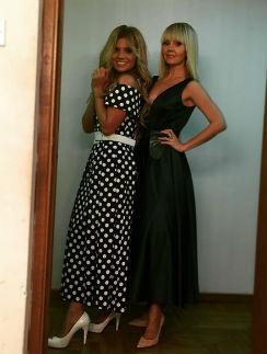 Певица Валерия с дочерью Аней Шульгиной