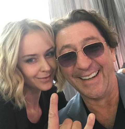Григорий Лепс с супругой Анной