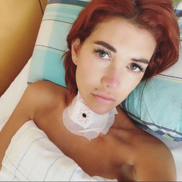 Николь поделилась фото сразу после операции
