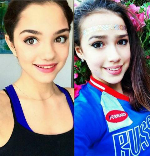 Как живут фигуристки-рекордсменки Евгения Медведева и Алина Загитова