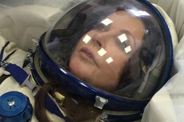 О полете в космос Сара мечтала с самого детства