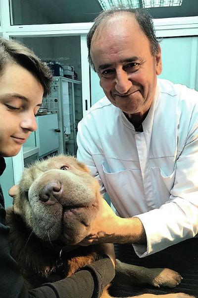Сын Ольги Артем обожает пса