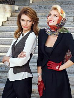 Рената Литвинова и модель Любовь Инженевская
