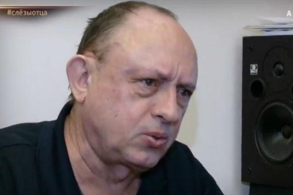 Виктор Началов во время интервью не мог сдержать слез
