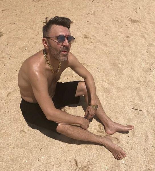 Сергей Шнуров на Бали