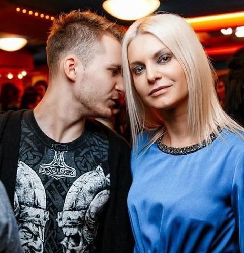 Татьяна Ларина с мужем Юлием Миткевичем-Далецким