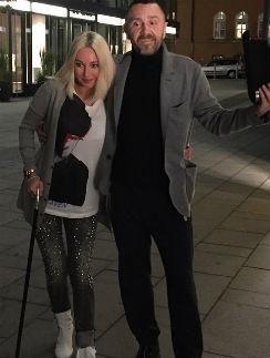 Лера Кудрявцева и Сергей Шнуров
