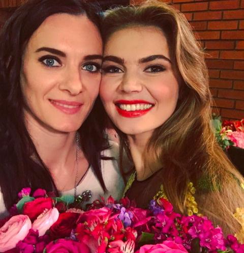 Елена Исинбаева и Алина Кабаева