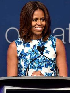 Мишель Обама на мероприятии
