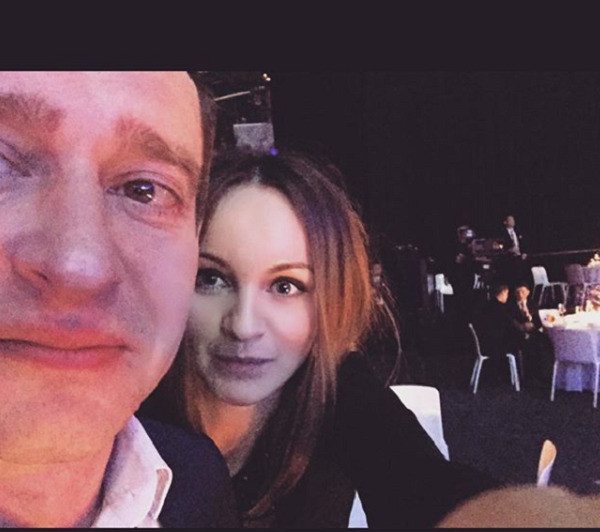 Константин Хабенский с женой