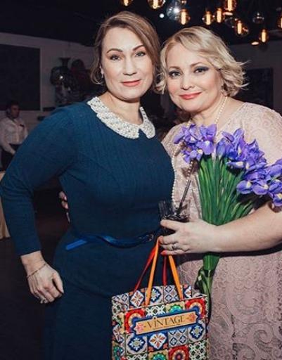 Ольга Тумайкина и Светлана Пермякова