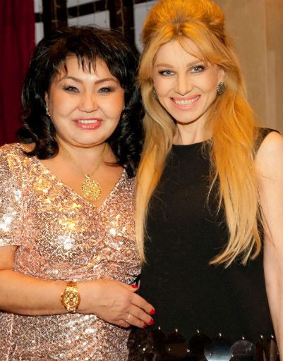 Клара Кузденбаева и Ирина Нельсон