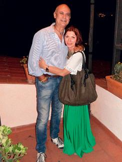 Одно из последних фото, Роза и Джузеппе, 23 июня