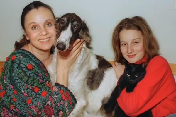 С дочкой Мариэттой