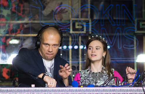 DJ Грув и Полина Буторина