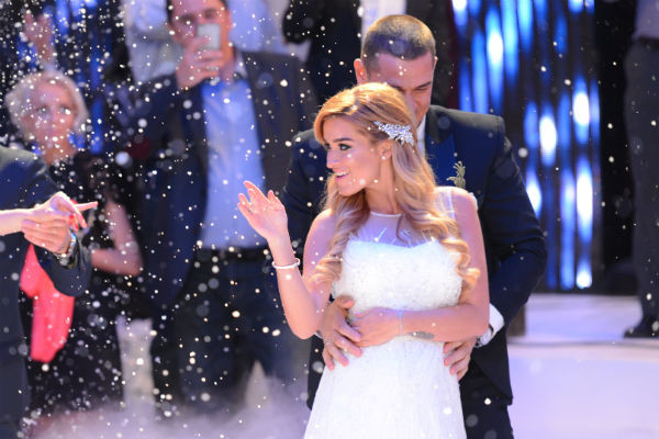 Ксения и Курбан кружились в первом свадебном танце