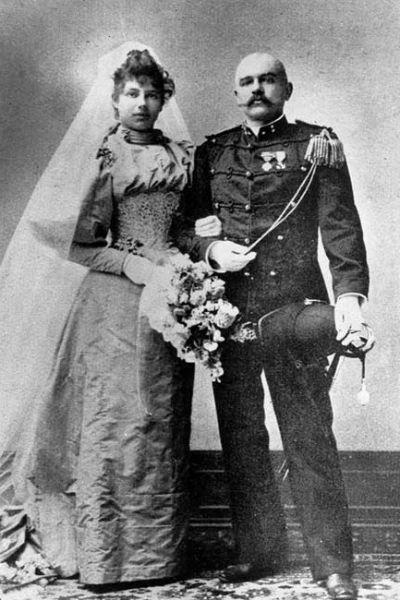 Маргарета Зелле с Рудольфом Мак-Леодом