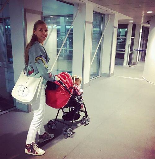 Татьяна Навка перед поездкой в Сочи
