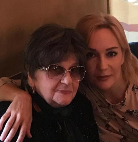 Татьяна Буланова с матерью Ниной Павловной