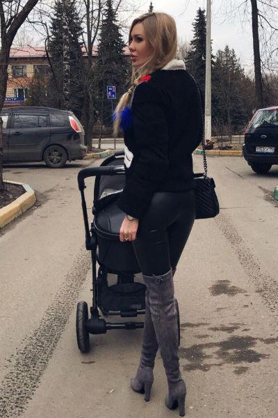 Юлия быстро пришла в форму после родов