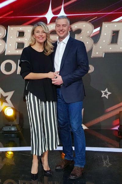 Екатерина Архарова везде появляется с мужем