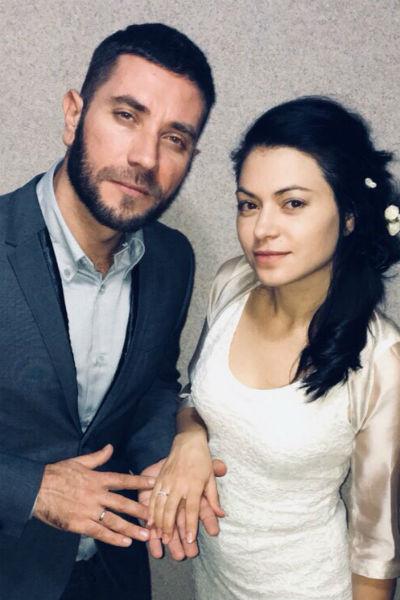 Руслан и его супруга Оксана
