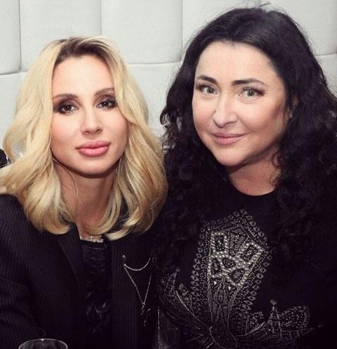 Светлана Лобода и Лолита Милявская