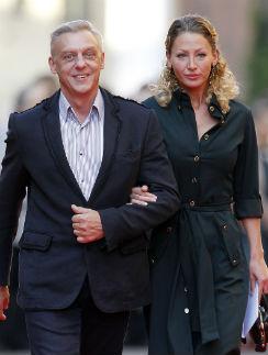 Александр Половцев с супругой Эсаной Муратовой