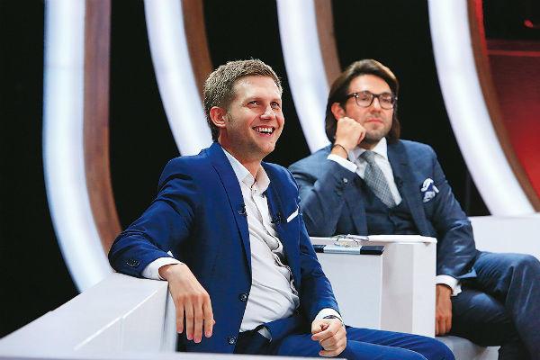 Борис Корчевников и Андрей Малахов рассказывали о многолетней работе на телевидении