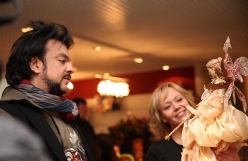 В подарок Алле-Виктории Филипп выбрал волшебную фею