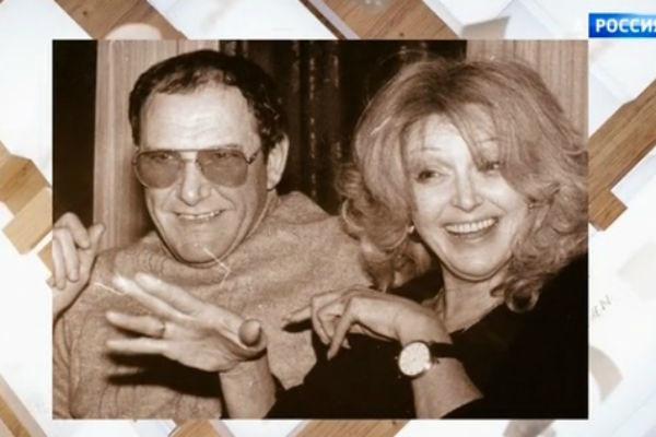 Актер с супругой Аллой Балтер