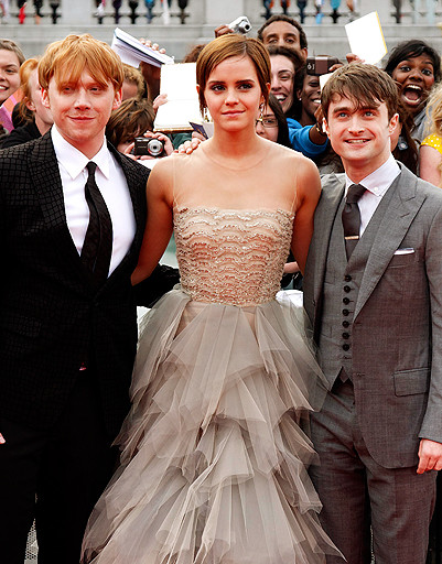 Премьера «Гарри Поттер и Дары смерти: Часть 2» в Лондоне