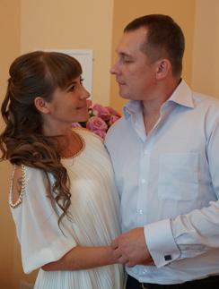 1 августа Даниил Диглер женился на Анне Овечкиной