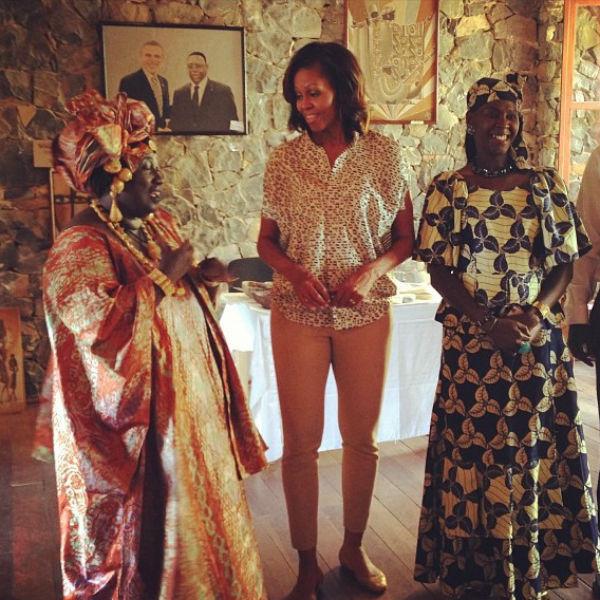 Встреча местных художников на острове Гори