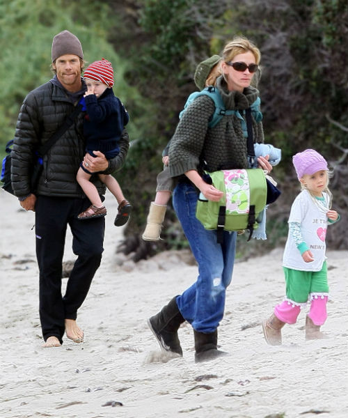 фото джулия робертс с семьёй