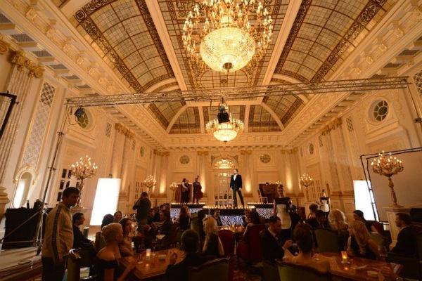 Съемки проходили в одной из гостиниц Киева