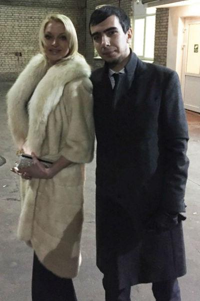 Анастасия Волочкова с пранкером Вованом