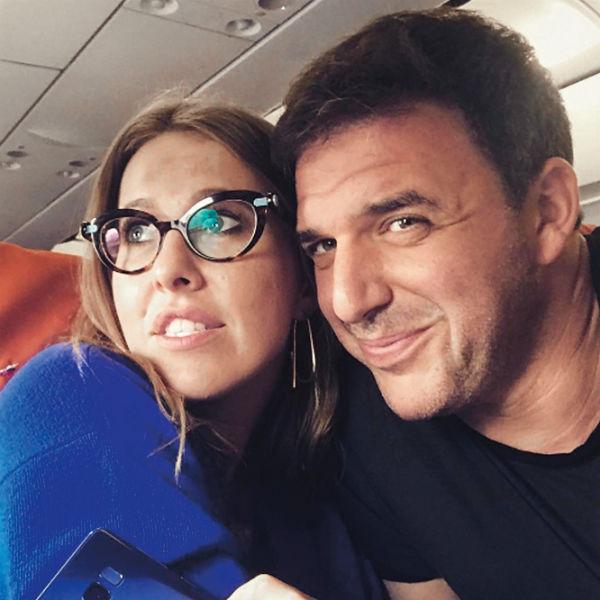 Милые фото с мужем Ксения часто выкладывает в «Инстаграм»
