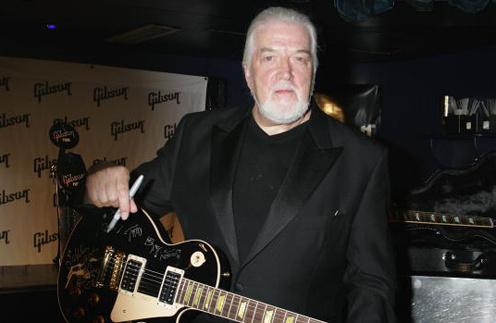 Джон Лорд в Зале славы рок-н-рола