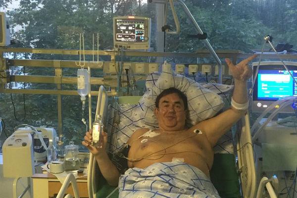 Станислав Садальский благодарен врачам за свое спасение
