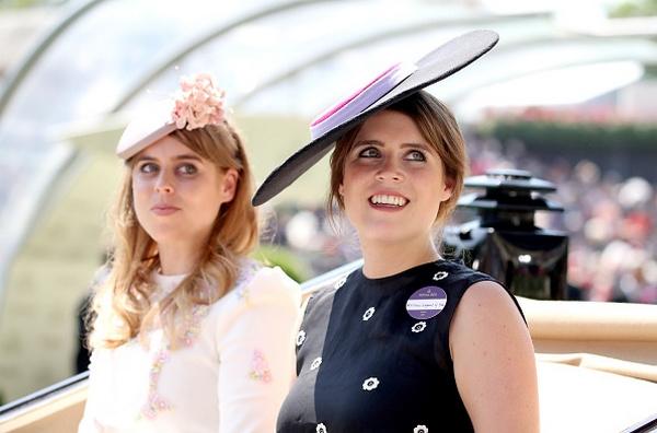 Принцесса Беатрис и сестрой
