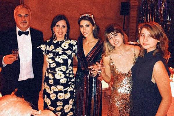 Валерий и Ирина Меладзе с дочерьми