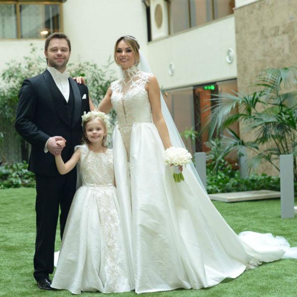 Виталий и Ирина с дочерью Миланой
