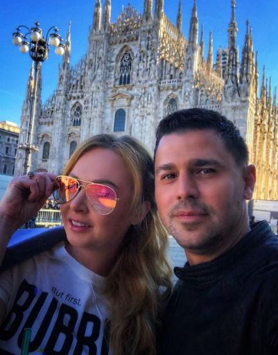 Дарья и Сергей Пынзарь поздравили телеведущую с юбилеем