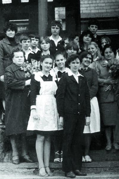 Евгений Миронов в юности