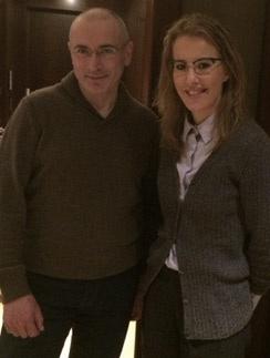 Михаил Ходорковский и Ксения Собчак