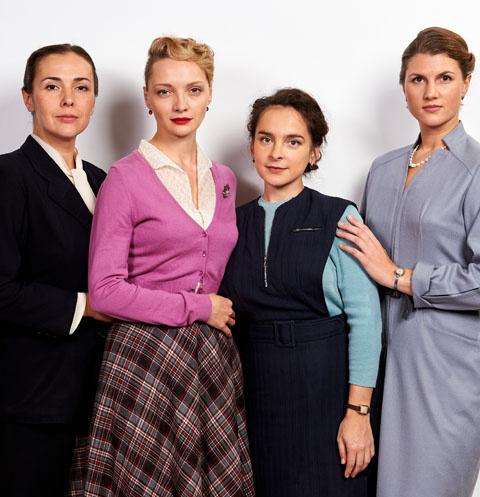Главные героини сериала «Шифр»